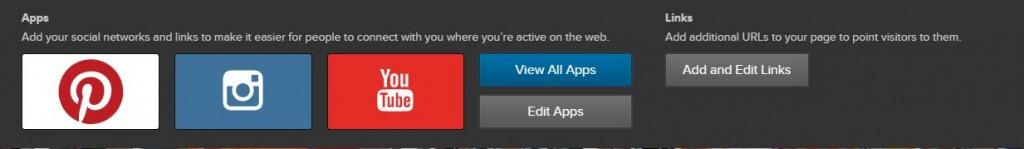 App e siti About.me