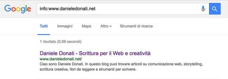 Come usare Google - Es.7